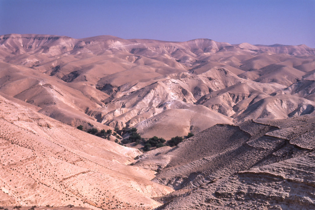 Descending from Jerusalem to Jericho, Israel