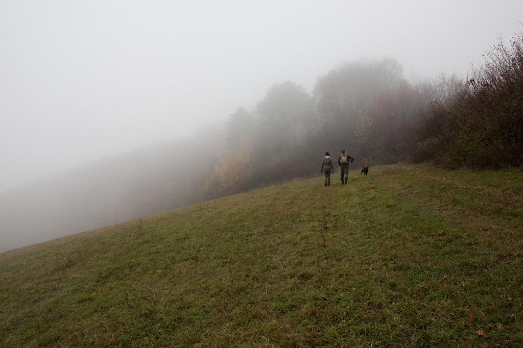 Hazy days in Pušovce, Slovakia